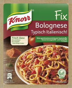 Knorr Fix Bolognese Typisch Italienisch