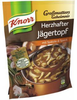 Knorr Großmutters Geheimnis Herzhafter Jägertopf - 8712100332067