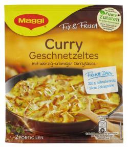 Maggi fix & frisch Curry Geschnetzeltes