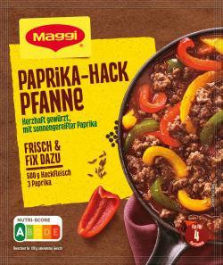 Maggi Fix für Paprika-Hack Pfanne