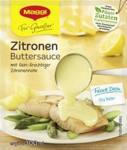 Maggi Für Genießer Zitronen Buttersauce (37 g) - 7613033281556