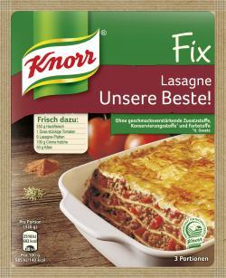 Knorr Fix Lasagne Unsere Beste!