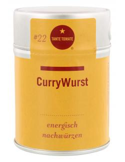 Tante Tomate CurryWurst Gewürzzubereitung (60 g) - 4260317762527