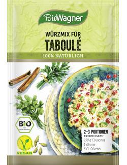 BioWagner Würzmix für Taboulé (20 g) - 4049164125170