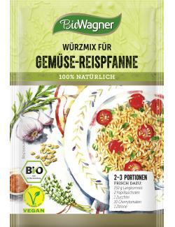 BioWagner Würzmix für Gemüse-Reispfanne (20 g) - 4049164125187