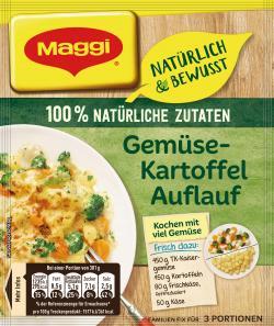 Maggi So lecker & bewusst Gemüse-Kartoffel-Auflauf