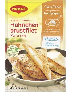 Maggi fix & frisch mit gewürztem Bratpapier Hähnchenbrustfilet Paprika (23,20 g) - 8585002435248