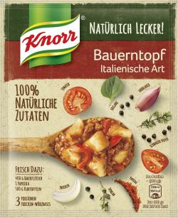 Knorr Natürlich Lecker! Bauerntopf Italienische Art (60 g) - 8710908956980
