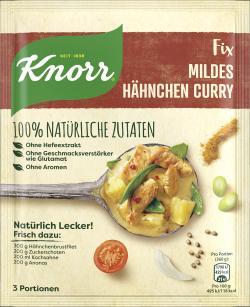 Knorr Natürlich Lecker! Hähnchen Curry (47 g) - 8710908970740