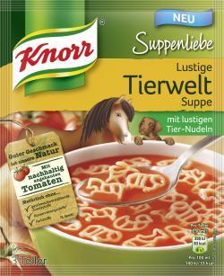 Knorr Suppenliebe Lustige Tierwelt
