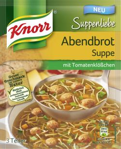 Knorr Suppenliebe Abendbrot Suppe (47 g) - 8710908937095