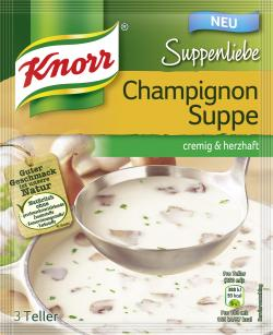 Knorr Suppenliebe Champignon Suppe
