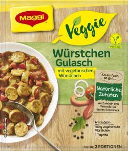 Maggi Veggie Würstchen Gulasch (37 g) - 7613035918504