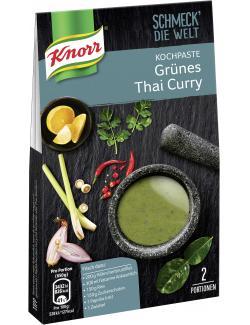 Knorr Schmeck' die Welt Kochpaste Grünes Thai Curry (57 g) - 8714100371312