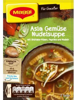 Maggi für Genießer Asia Gemüse Nudelsuppe - 7613035800373