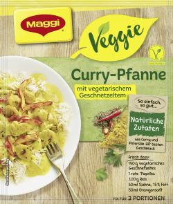 Maggi Veggie Curry-Pfanne (47 g) - 7613035714908