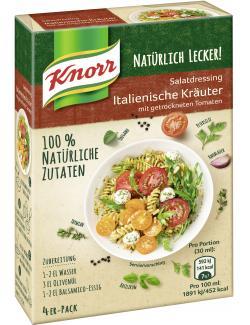 Knorr Natürlich Lecker! Salatdressing Italienische Kräuter (4 x 90 ml) - 8714100097892