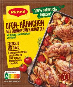 Maggi Natürlich & Bewusst Hähnchen mit Gemüse & Kartoffeln (27 g) - 7613035761889