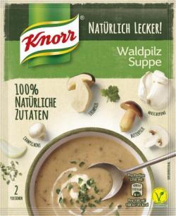 Knorr Natürlich Lecker! Waldpilz Suppe - 8714100760864