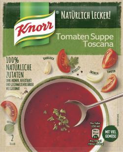 Knorr Natürlich Lecker! Tomaten Suppe Toscana