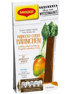 Maggi Würz-Paste zum Braten für Mangold Curry Hähnchen (100 g) - 7613036039857