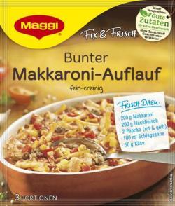 Maggi Fix & Frisch Bunter Makkaroni-Auflauf (38 g) - 7613035626478