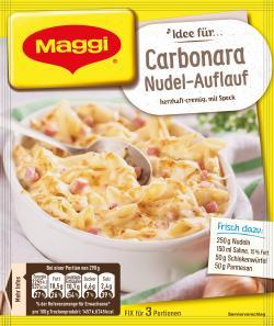 Maggi Fix & Frisch Carbonara Nudel-Auflauf (38 g) - 7613035677685