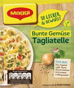 Maggi Fix & Frisch Bunte Gemüse-Tagliatelle (42 g) - 7613035626430