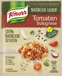 Knorr Natürlich Lecker! Tomaten Bolognese