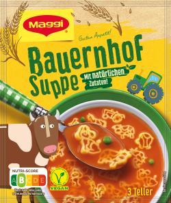 Maggi Guten Appetit Bauernhofsuppe