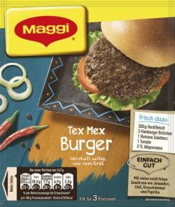 Maggi Fix Tex Mex Burger