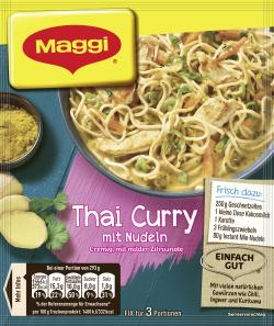 Maggi Fix Thai Curry mit Nudeln