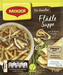 Maggi Für Genießer Flädle Suppe