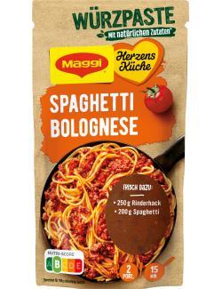 Maggi Herzensküche, Würzpaste für Spaghetti Bolognese