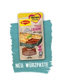 Maggi Herzensküche Gewürzpaste Lasagne