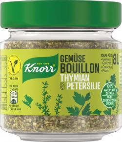 Knorr Gemüse Bouillon Thymian & Petersilie