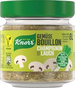 Knorr Gemüse Bouillon Champignon und Lauch