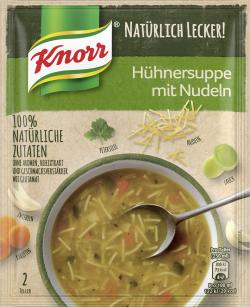 Knorr Natürlich Lecker! Hühnersuppe mit Nudeln