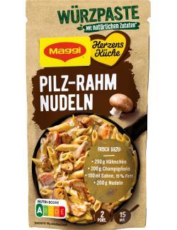 Maggi Herzensküche Würzpaste Pilz Rahm Nudeln
