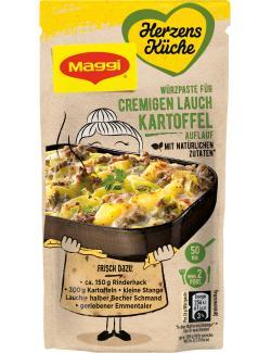 Maggi Herzensküche Würzpaste für cremigen Lauch Kartoffel Auflauf