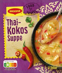 Maggi Food Travel Thai-Kokussuppe