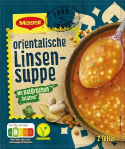Maggi Travel Food Orientalische Linsensuppe