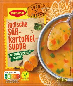 Maggi Food Travel Indische Süßkartoffelsuppe