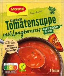 Maggi Guten Appetit Tomatensuppe mit Langkornreis