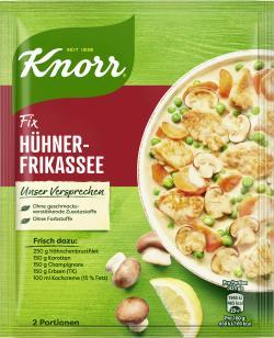 Knorr Fix Hühnerfrikassee