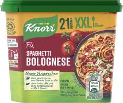 Knorr Fix für Spaghetti Bolognese XXL