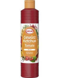 Hela Tomaten Gewürz Ketchup mild-würzig (800 ml) - 4027400168228