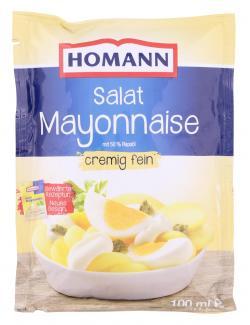 Homann Salat Mayonnaise cremig fein