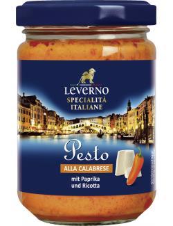 Leverno Pesto alla Calabrese mit Paprika & Ricotta
