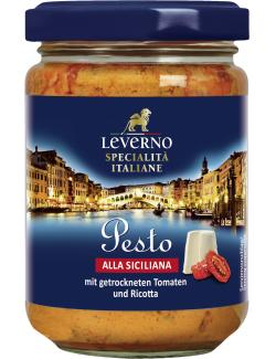 Leverno Pesto alla Siziliana Tomate & Ricotta (145 ml) - 4013200333997